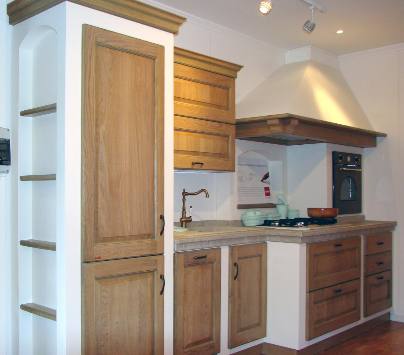 SCAVOLINI cucina Belvedere - dimensione legnodimensione legno