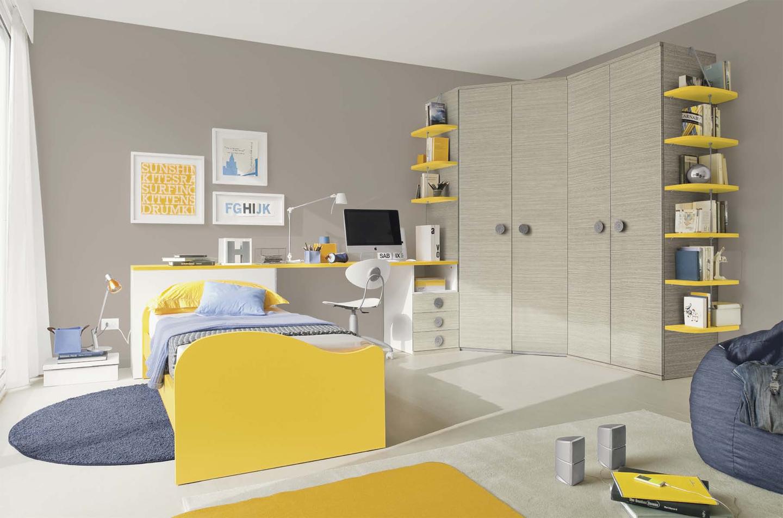 Camerette per ragazzi dimensione legnodimensione legno - Colombini camere da letto ...
