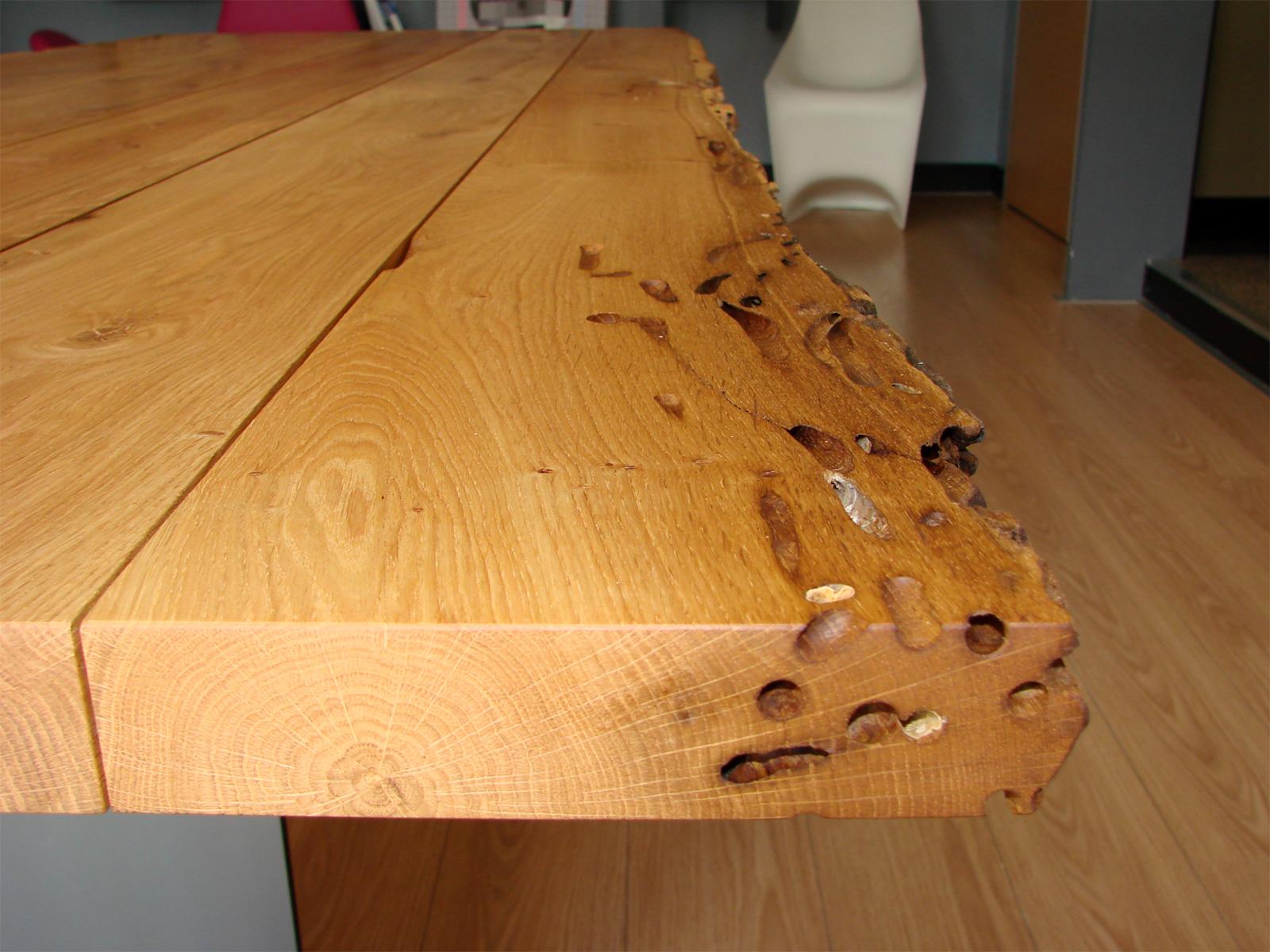 Interessante tavolo legno di recupero vs17 pineglen for Designer di piani di pavimenti online
